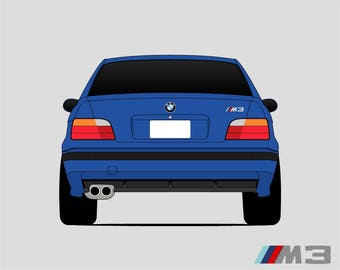BMW E36 // M3 // Second Generation M3 // BMW 3 Series /