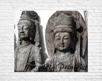 Buddha Wall Art Printable Instant Download, Asian Wall Art, Home Decor, Printable Art, Meditation Yoga Room Decor, Digital Photography Print