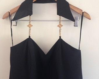 Vintage 90's black dress