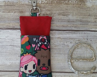 Fairitella beauty and the beast sunscreen stick cozy! Jujube customs. Tokidoki