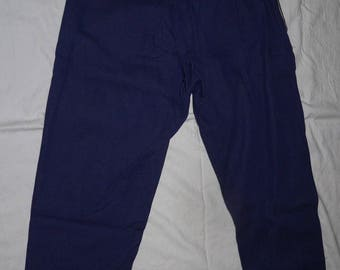 NOS brown work trousers 1930s style deadstock Uq82Um