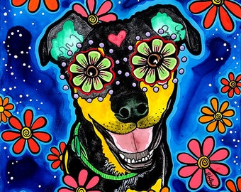Dog Art, Pet Portraits, Cat Art, Pet Loss Gifts, Trending Now Best Selling Art, Top Selling Art, Mexican Decor, Top Selling Items, RobiniArt