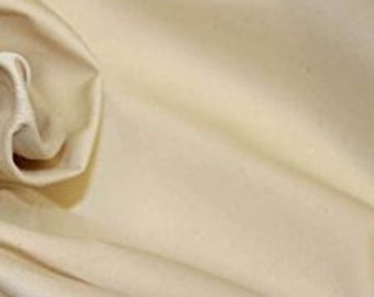 High quality cotton poplin dyed in Japan. Unbleached, natural