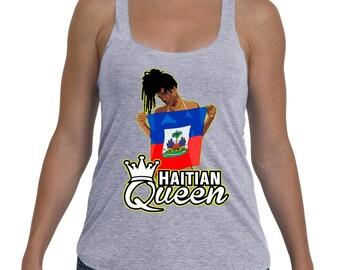 Haitian queen Tank Top