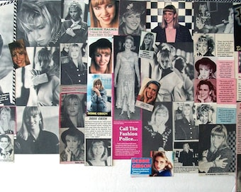DEBBIE GIBSON ~ Lost In Your Eyes, Only In My Dreams, Electric Youth, Acting Dead, Deborah ~ Color, B&W Clippings from 1988-1991 - Batch 2