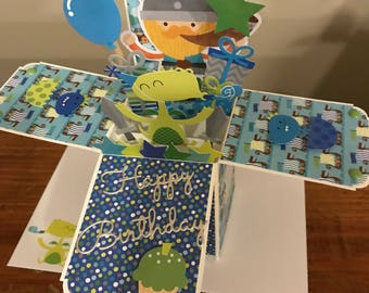 Viking Birthday Card in a Box