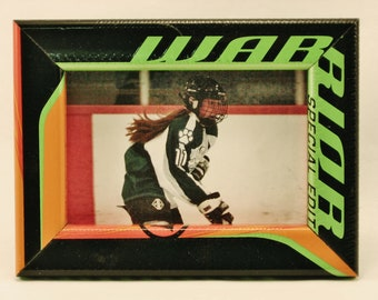 4 x 6 Hockey Stick Frame - FREE SHIPPING in US  (#6334)