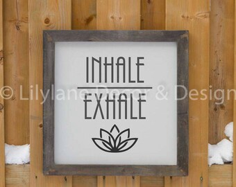 Inhale Exhale SVG file