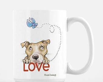 Pet Lover Valentine Gift / Dog Gift / Pet Lover / Personalized / Pit Bull Lover