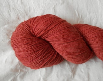Tomato sock yarn