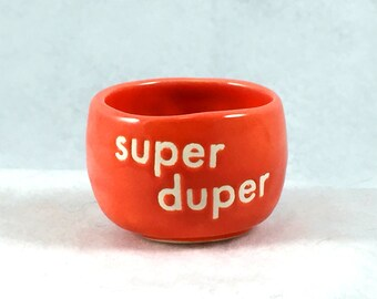 Super Duper Ceramic Pot