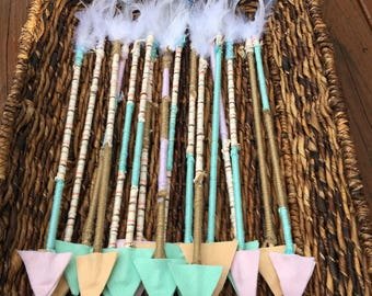 Decorative hand made arrows