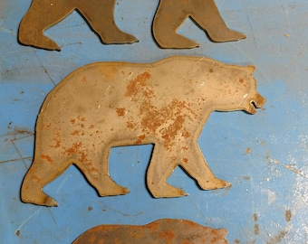 Rustic Metal Cutouts