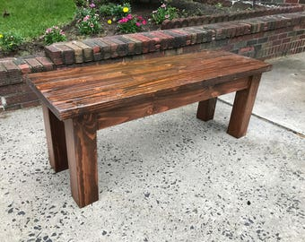 Farmhouse Bench/Dining Bench
