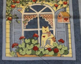 "Daisy Kingdom Seasons 8""x8"" blocks panel by Susan Winget Vintage 100% cotton 42""-44"" wide Fabric Traditions"