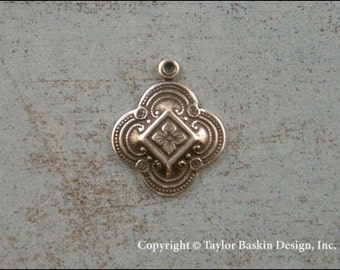 Antik Silber vergoldet viktorianischen Komponenten (Artikel 2503 als) - 6 Stück