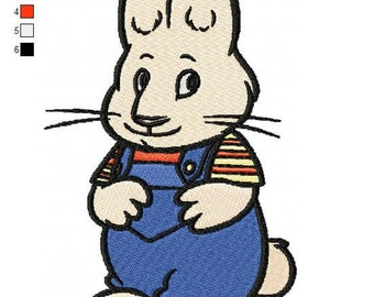 Package 2 Max and Ruby Embroidery Designs