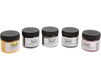 Stabilizing Resin Dye Kit - 5 Colors For Use With STICK FAST Resin TMIProducts