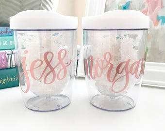 Stemless Wine Tumbler Personalized | Acrylic Wine Tumbler | Wine Sippy Cups | Girls Weekend Tumbler | Bridesmaid Wine Tumbler Personalized