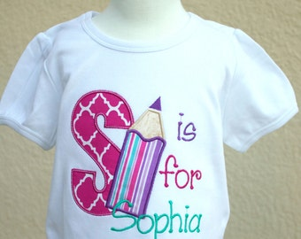 Alphabet Shirt - Back To School Shirt