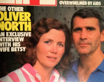 LIFE Magazine August 1987, Oliver North.