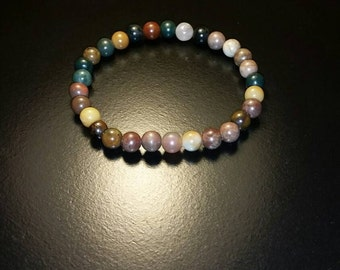Earth toned beaded bracelet