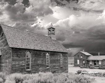 Bodie Ghost Town Methodist Church