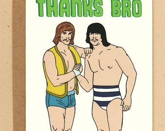 Thanks Bro Wrestling Tag Team Card