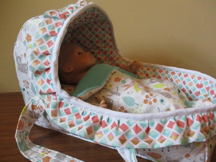 Puppe stubenwagen puppenträger moses korb bitty babybett