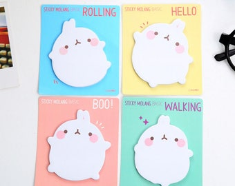 Cute Bunny Sticky Notes / Post It