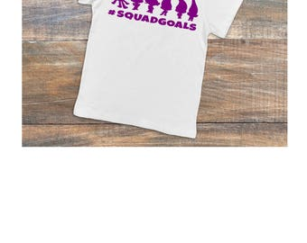 Trolls Squad Goals T-shirt