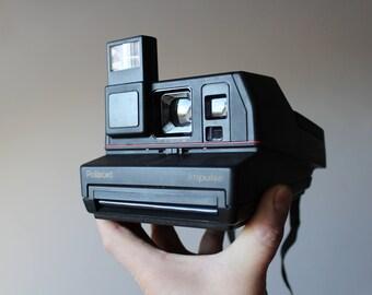 Vintage Polaroid Impulse Portrait 600 Camera, Instant photo, Polaroid Camera, Vintage Camera, Retro Camera, Retro photo Camera, Polaroid 600