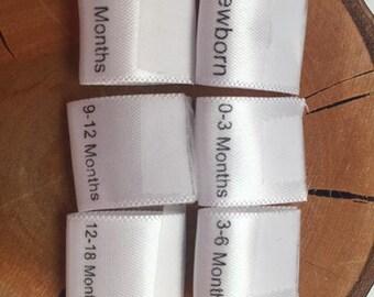 15mm Size labels