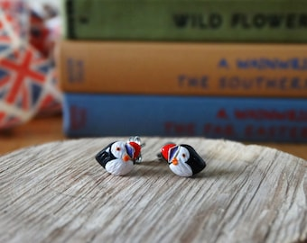 By the Shed Puffin Bird Earrings - Sea Birds - Coastal - Gift - Unique - Cliffs - The Good Life - Seaside - Northumberland - Farne Islands
