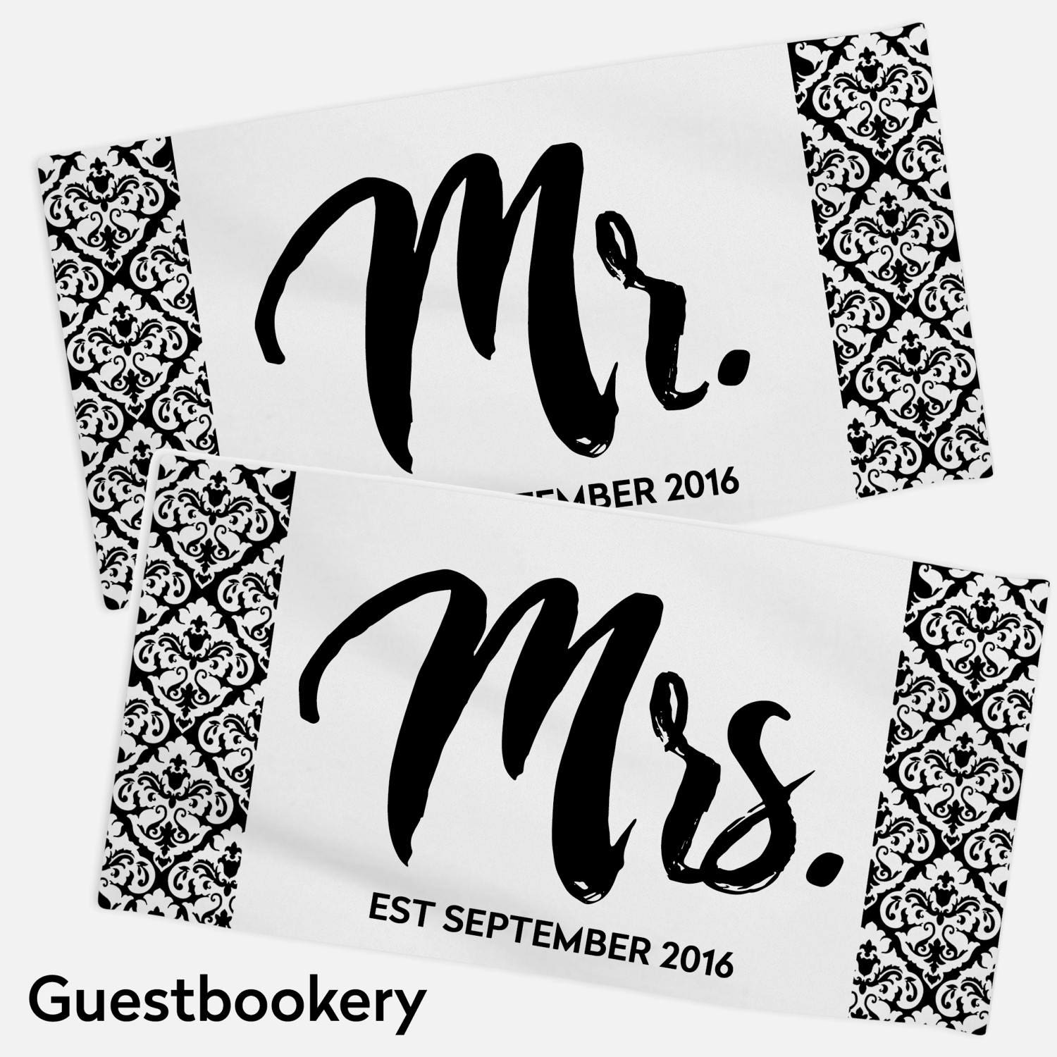 Mr And Mrs Towels Mr And Mrs Towel Set Honeymoon Towels