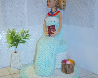 0084 Multiple Sized Doll Pattern,Sleeping Bag 4PC Accessory Doll Pattern,Crochet Doll Pattern by CarussDesignZ