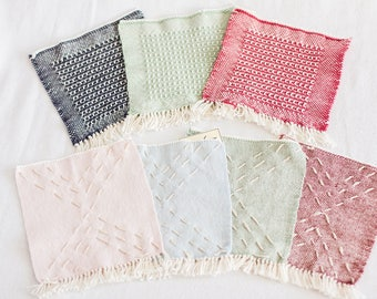 SALE! Hand Woven Baby/ Face Washcloth