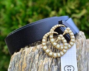 GG style pearl belt. Brand New