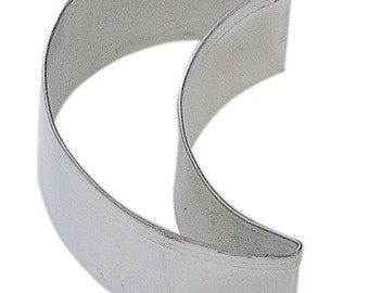 Mini Folk Crescent Moon Cookie Cutter 1.5''