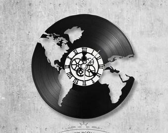 Vinyl 33 clock turns The World - World theme