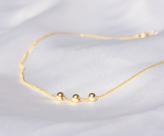 real gold anklet