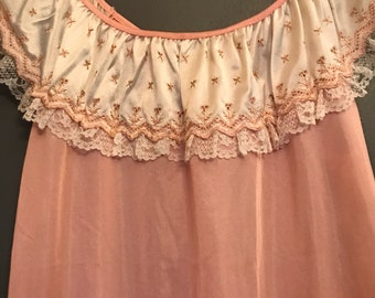 Vintage Miss Dira Nightgown