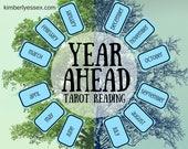 Year Ahead 12-card Tarot ...