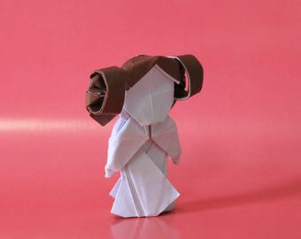 Princess Leia - Star Wars - Origami