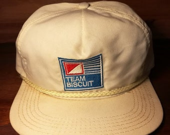 Vintage Team Biscuit hat
