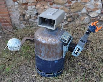 Robot Sculpture metal