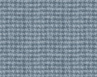 Woolies flannel - one yard light blue