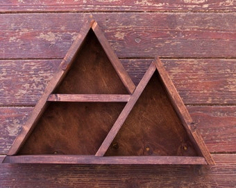 Small Mountain Geometric Shelf