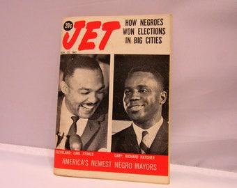 Negroes Mayors Vintage Jet Magazine