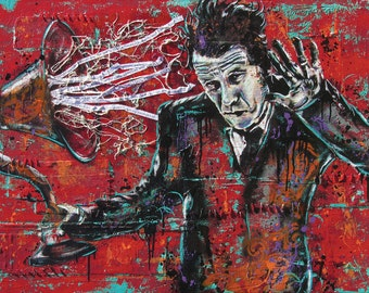 Tom Waits -Real Gone - 24 x 18 High Quality Art Poster